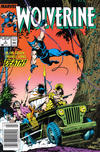 Cover for Wolverine (Marvel, 1988 series) #5 [Newsstand]