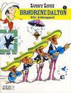 Cover for Lucky Luke (Hjemmet / Egmont, 1991 series) #3 - Brødrene Dalton blir kidnappet