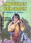 Cover for Mujeres Célebres (Editorial Novaro, 1961 series) #57