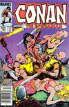 Cover for Conan the Barbarian (Marvel, 1970 series) #165 [Newsstand Edition]