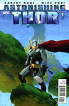 Cover for Astonishing Thor (Marvel, 2011 series) #1