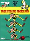 Cover for Lucky Luke (Hjemmet / Egmont, 1991 series) #34 - Brødrene Dalton rømmer igjen [3. opplag]