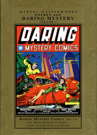Cover Thumbnail for Marvel Masterworks: Golden Age Daring Mystery (Marvel, 2008 series) #1 [Regular Edition]