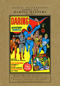 Cover Thumbnail for Marvel Masterworks: Golden Age Daring Mystery (Marvel, 2008 series) #2 [Regular Edition]