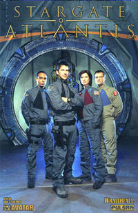 Cover Thumbnail for Stargate Atlantis: Wraithfall (Avatar Press, 2005 series) #3 [Team Photo]