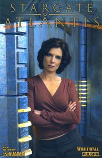 Cover Thumbnail for Stargate Atlantis: Wraithfall (Avatar Press, 2005 series) #3 [Weir Photo]