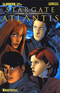 Cover Thumbnail for Stargate Atlantis: Wraithfall (Avatar Press, 2005 series) #3 [Wrap]