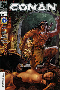 Cover Thumbnail for Conan (Dark Horse, 2004 series) #24 [Nude cover]