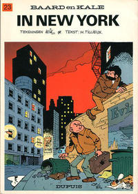 Cover for Baard en Kale (Dupuis, 1954 series) #23 - In New York