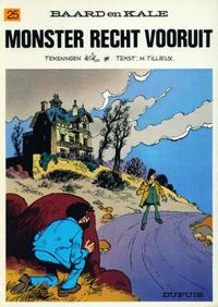 Cover Thumbnail for Baard en Kale (Dupuis, 1954 series) #25 - Monster recht vooruit