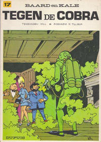 Cover Thumbnail for Baard en Kale (Dupuis, 1954 series) #17 - Tegen de Cobra