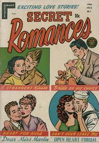 Cover Thumbnail for Secret Romances (Superior Publishers Limited, 1951 series) #7