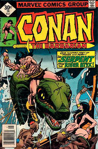 Cover Thumbnail for Conan the Barbarian (Marvel, 1970 series) #74 [Whitman]