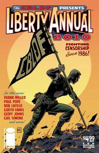 Cover Thumbnail for The CBLDF Presents Liberty Annual (Image, 2010 series) #2010 [Martha Washington Cover]
