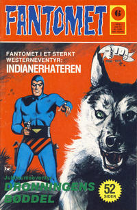Cover Thumbnail for Fantomet (Nordisk Forlag, 1973 series) #6/1976