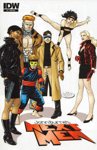 Cover Thumbnail for John Byrne's Next Men (IDW, 2010 series) #1 [Cover RIA]