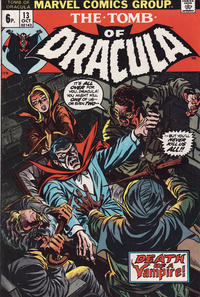 Cover Thumbnail for Tomb of Dracula (Marvel, 1972 series) #13 [British]