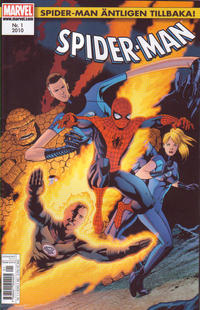 Cover Thumbnail for Spider-Man (Egmont, 2010 series) #1/2010