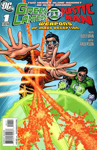 Cover Thumbnail for Green Lantern / Plastic Man: Weapons of Mass Deception (DC, 2011 series) #1