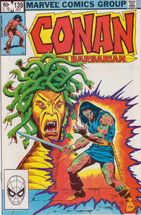 Cover Thumbnail for Conan the Barbarian (Marvel, 1970 series) #139 [Direct Edition]
