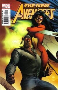 Cover Thumbnail for New Avengers (Marvel, 2005 series) #5 [Adi Granov Cover]
