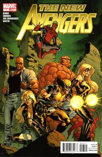 Cover Thumbnail for New Avengers (Marvel, 2010 series) #7