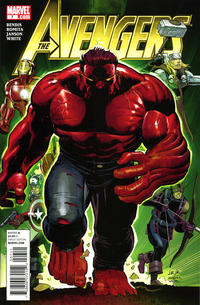 Cover Thumbnail for Avengers (Marvel, 2010 series) #7 [Standard Cover]