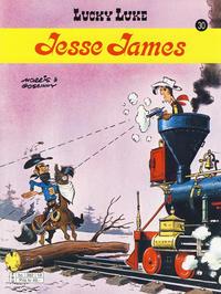Cover Thumbnail for Lucky Luke (Hjemmet / Egmont, 1991 series) #30 - Jesse James [3. opplag]