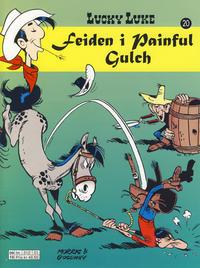 Cover Thumbnail for Lucky Luke (Hjemmet / Egmont, 1991 series) #20 - Feiden i Painful Gulch