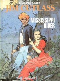 Cover Thumbnail for Jim Cutlass (Carlsen Comics [DE], 1992 series) #1 - Mississippi River
