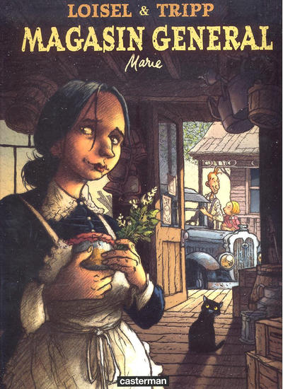 Cover for Magasin general (Casterman, 2006 series) #1 - Marie