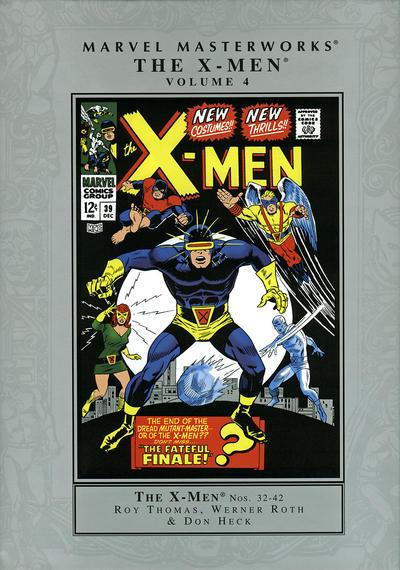 Cover for Marvel Masterworks: The X-Men (Marvel, 2003 series) #4 [Regular Edition]