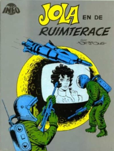 Cover for Jola en de ruimterace (RAJ-Publications, 1977 series)