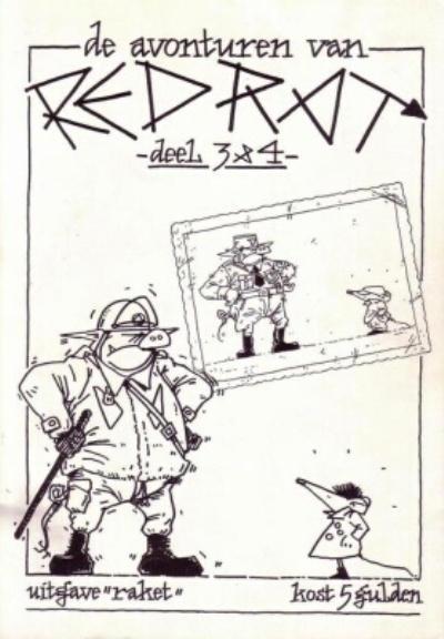 Cover for De avonturen van Red Rat (Raket, 1981 series) #3 & 4
