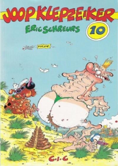 Cover for Joop Klepzeiker (CIC, 1988 series) #10