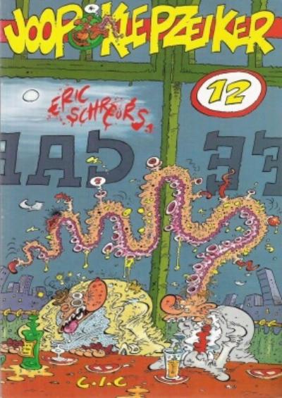 Cover for Joop Klepzeiker (CIC, 1988 series) #12