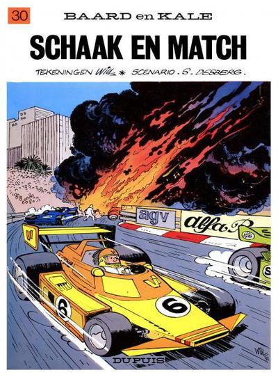 Cover for Baard en Kale (Dupuis, 1954 series) #30