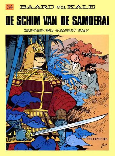 Cover for Baard en Kale (Dupuis, 1954 series) #34