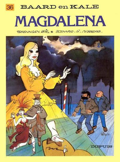 Cover for Baard en Kale (Dupuis, 1954 series) #36