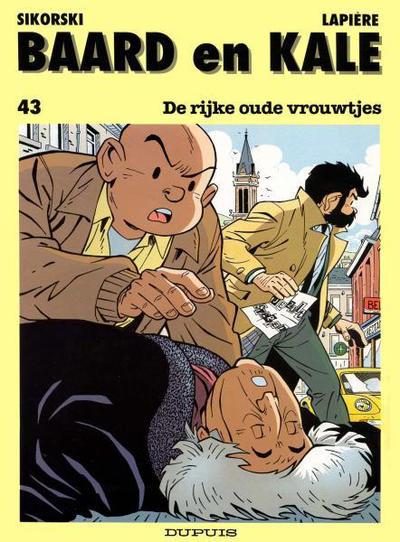 Cover for Baard en Kale (Dupuis, 1954 series) #43