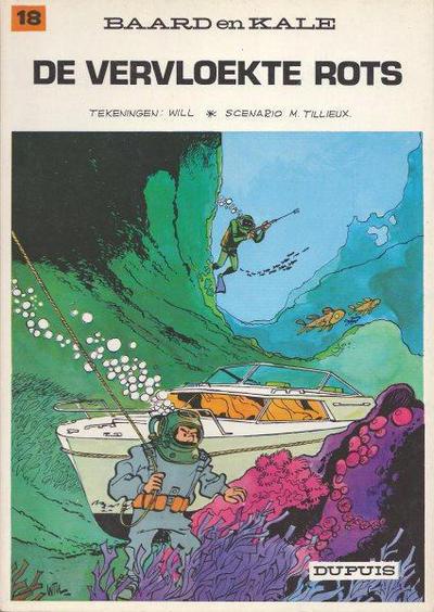 Cover for Baard en Kale (Dupuis, 1954 series) #18