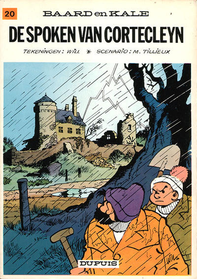 Cover for Baard en Kale (Dupuis, 1954 series) #20