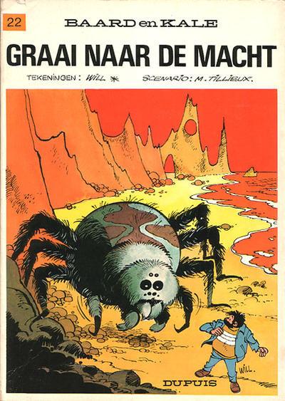 Cover for Baard en Kale (Dupuis, 1954 series) #22