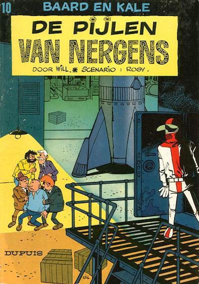 Cover for Baard en Kale (Dupuis, 1954 series) #10 - De pijlen van Nergens [Eerste druk]