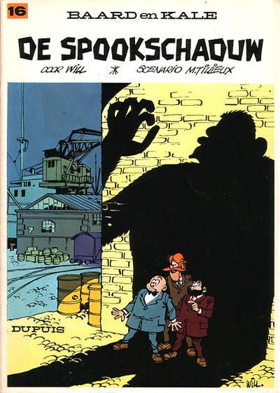 Cover for Baard en Kale (Dupuis, 1954 series) #16 - De spookschaduw