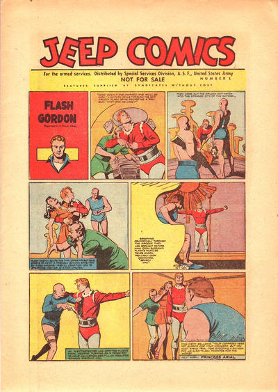 Cover for Jeep Comics (United States Army, 1945 series) #1