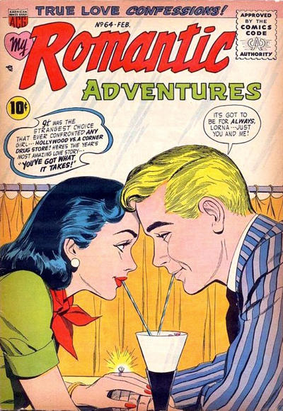 Cover for Romantic Adventures (American Comics Group, 1949 series) #64
