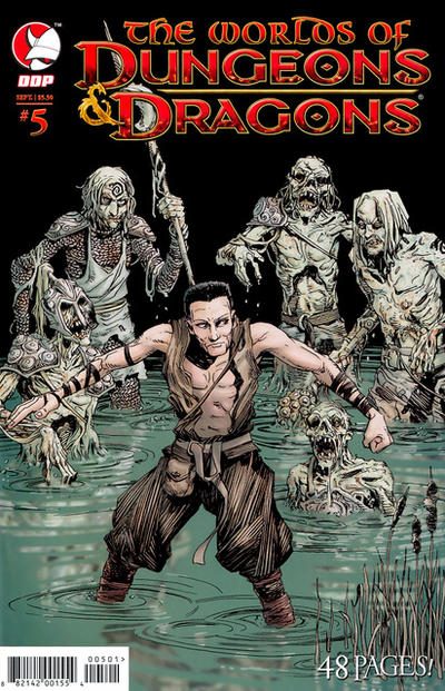 Cover for The Worlds of Dungeons & Dragons (Devil's Due Publishing, 2008 series) #5
