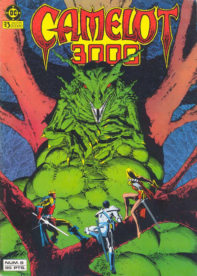 Cover for Camelot 3000 (Zinco, 1984 series) #8