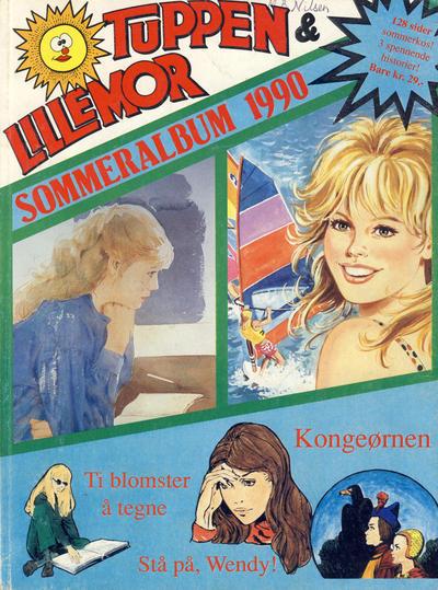 Cover for Tuppen & Lillemor (Serieforlaget / Se-Bladene / Stabenfeldt, 1985 series) #Sommeralbum 1990